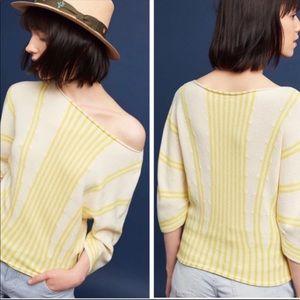 Anthropologie Moth Palma Sweater Top